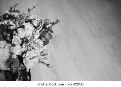 Flower vase black images stock photos vectors shutterstock wedding bouquet of white red and pink flowers in a vintage vase stands on a mightylinksfo