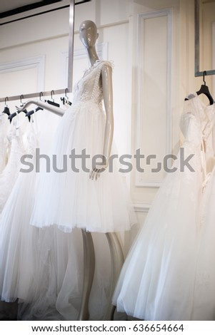 02bb454b2 Wedding Boutique Stock Photo (Edit Now) 636654664 - Shutterstock