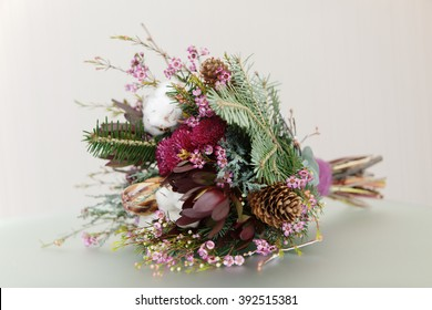 Burgundy Wedding Flowers Stock Photos Images Photography Shutterstock