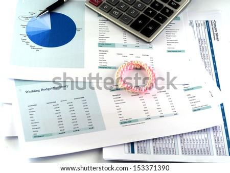 wedding budget sheet stock photo edit now 153371390 shutterstock
