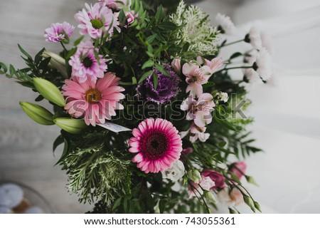 wedding buke wedding flowers stock photo edit now 743055361