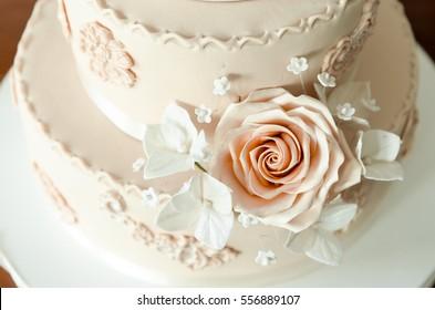 Wedding cake, cake for a wedding