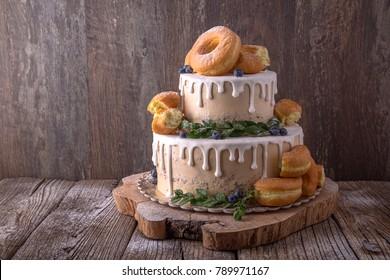 Donut Wedding Cake.Donut Wedding Cake Images Stock Photos Vectors Shutterstock