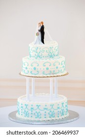 Wedding Cake with Topper
