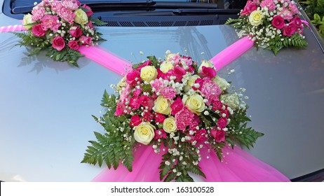 Wedding Car Decoration Images Stock Photos Vectors Shutterstock