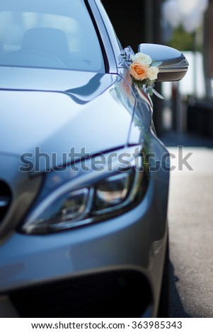 Wedding Car Decorations Stock Photo Edit Now 363985343 Shutterstock