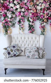 wedding ceremony, decor, flowers, arch