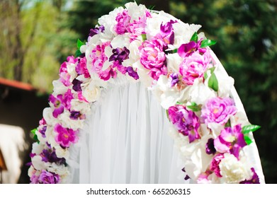 wedding ceremony decoration, wedding arch