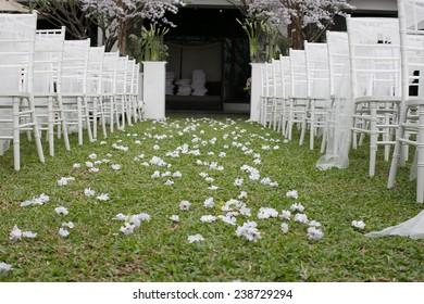 Wedding chair White