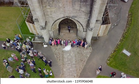 Wedding at Christchurch Priory and Avon Beach
