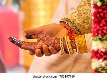 Wedding Couple Nice Hands