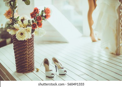 Wedding day moments