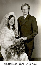 wedding day - photo scan - about 1970