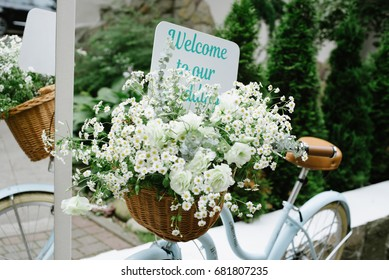 Wedding decor.  Wedding decorations. welcome to our wedding