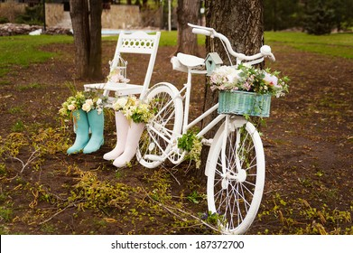 Wedding decor in the style of Provence