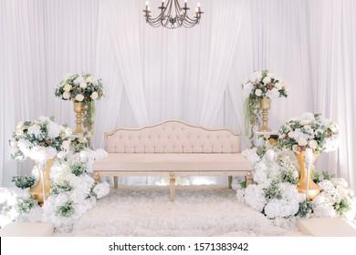 Wedding Decoration for a wedding bride