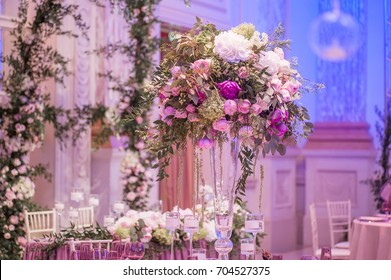 Flower decoration images stock photos vectors shutterstock wedding decoration with flowers picture with soft focus junglespirit Images