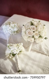 wedding decoration mix white flowers tropical style