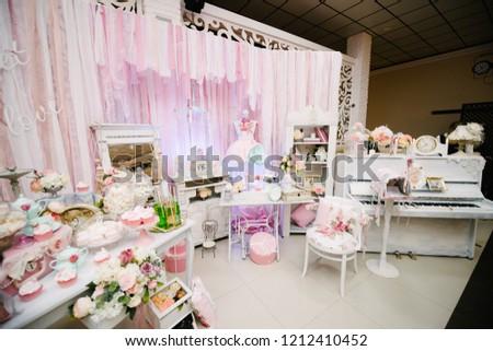 Wedding Decorations Accessories Stock Photo Edit Now 1212410452