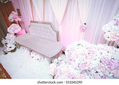 Wedding Decorations. Selective focus.