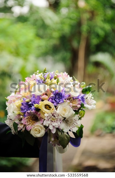 Wedding details - wedding bouquet