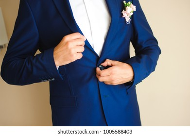 Wedding details. Groom accessories