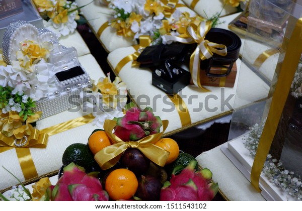 Wedding Dowry Hantaran Perkahwinan Malay Language Stock Photo Edit Now 1511543102