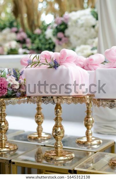 Wedding Dowry Hantaran Perkahwinan Malay Language Stock Photo Edit Now 1645312138