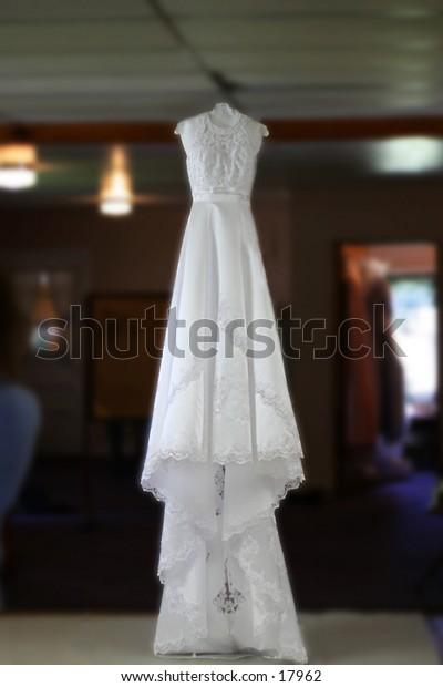 It's a wedding dress.  White one.