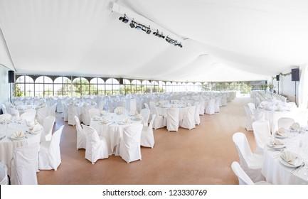 Wedding, event, celebration,  banquet, dinner, reception area tent