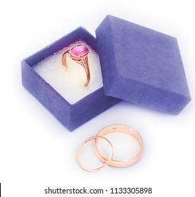 wedding and finger rings