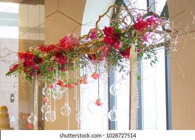 Wedding Floral Tablescape
