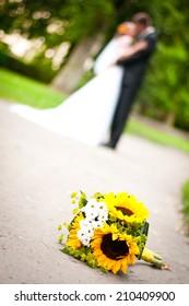 wedding flowe - Shutterstock ID 210409900