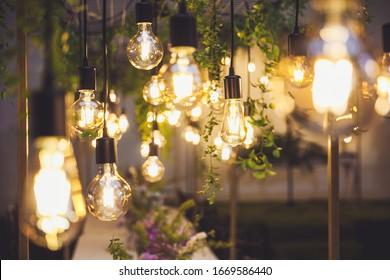 wedding flower lamp light decoration