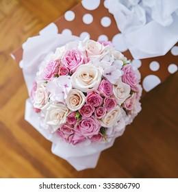 Wedding flowers. Shallow depth of field.