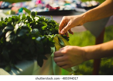 wedding green decoration