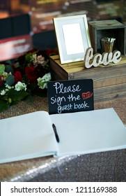 Wedding guest comments book Karachi, Pakistan, October 24, 2018
