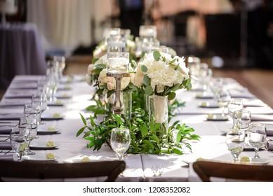 Wedding Hall before Dinner