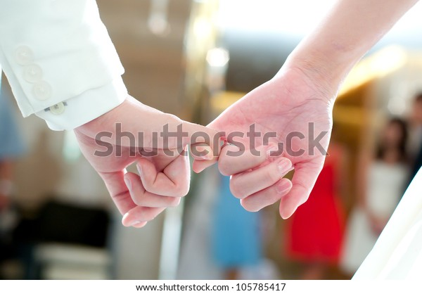 wedding hands, wedding theme, holding hands newlyweds