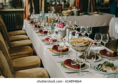 Wedding interior