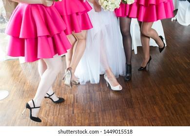 wedding legs group legs party