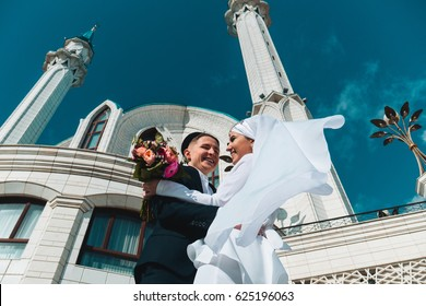 Wedding in the mosque