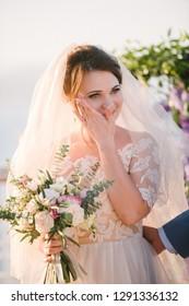Wedding on the ship