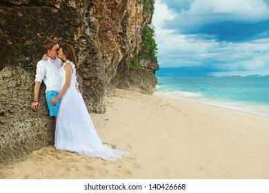 wedding on stormy weather