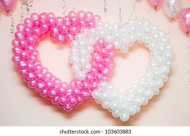 Wedding ornament in the form of heart