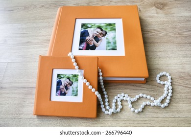 Wedding photo book and box for CD