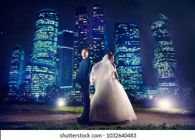 Wedding photo shoot Asians in Moscow. Places:
