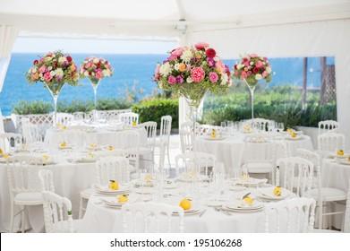wedding preparation restaurant
