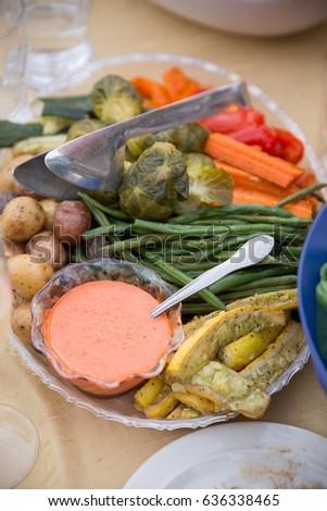 Wedding Reception Buffet Food Stock Photo Edit Now 636338465