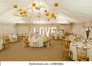 Wedding Reception Marquee Wedding